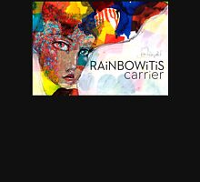 Rainbowitis Carrier - exclusive by Jane Davenport Womens Fitted T-Shirt
