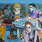 Blues Cafe by Sally Sargent