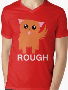 Rough Mens V-Neck T-Shirt