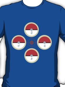 Pokeball Compass T-Shirt