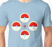 Pokeball Compass Unisex T-Shirt