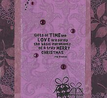 Gifts of Time & Love by Susie Ioia