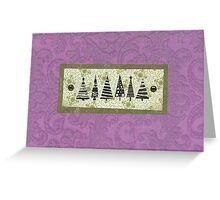 Simple Trees Greeting Card