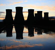 Cooling Reflections by Paul Bettison