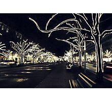 City Lights - Unter den Linden  Photographic Print