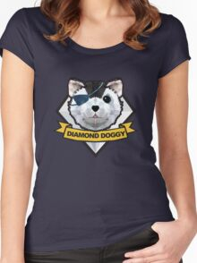 DIAMOND DOGGY Women's Fitted Scoop T-Shirt