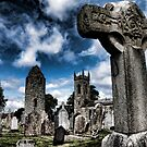 Dromiskin Monastery, County Louth, Ireland by Angela E.L. Clements