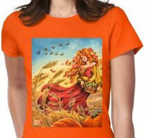 Harvest Faerie Womens Fitted T-Shirt
