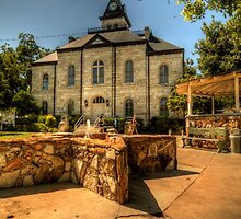 Somervell County Courthouse Square by Terence Russell