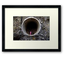 Petrified in Pink Framed Print