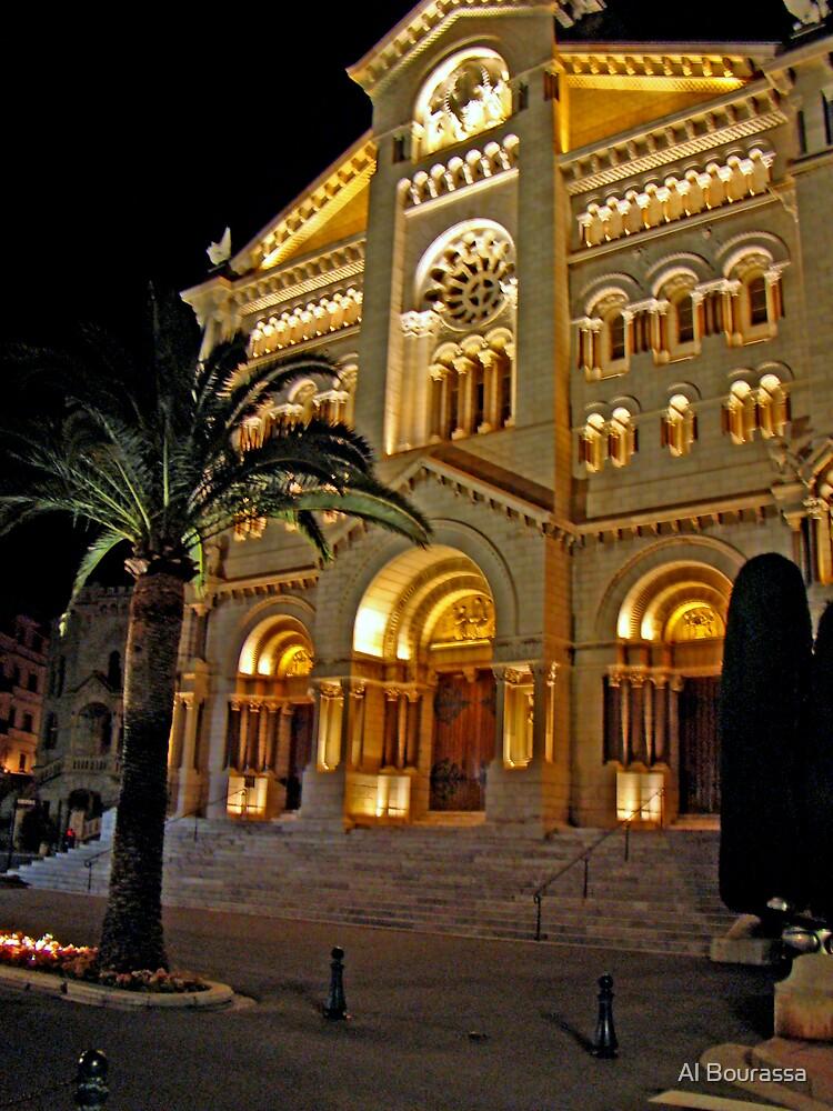 Saint Nicholas Cathedral, Monaco by Al Bourassa