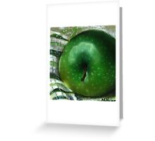 Ode to Granny Smith Greeting Card