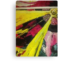 Abstract Clockwork Canvas Print
