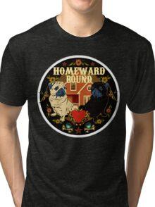 SAILOR PUGGY HOMEWARD BOUND Tri-blend T-Shirt