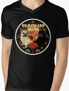 SAILOR PUGGY HOMEWARD BOUND Mens V-Neck T-Shirt