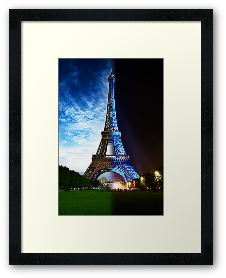 Eiffel Tower, morning to night - Paris by skphotography
