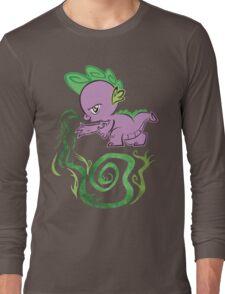 Tribal Spike Long Sleeve T-Shirt