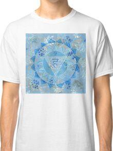 Fifth 5th Chakra Mandala Classic T-Shirt