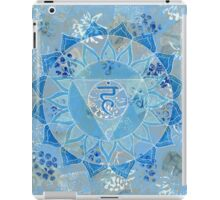 Fifth 5th Chakra Mandala iPad Case/Skin