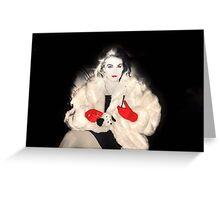 Cruella De Vil ? Greeting Card