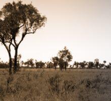 Lonely Landscape Sticker