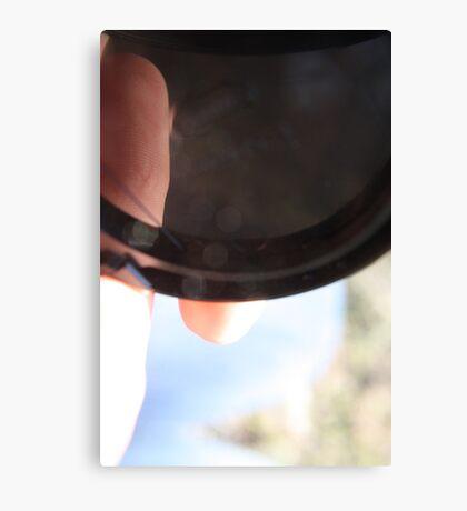 Camera Cap Canvas Print