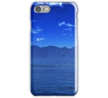 Leaving the harbour iPhone Case/Skin