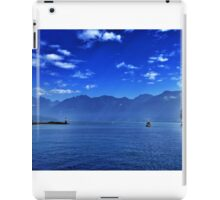 Leaving the harbour iPad Case/Skin