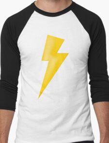 Lighting Bolt  Men's Baseball ¾ T-Shirt