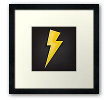 Lighting Bolt  Framed Print