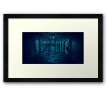 Prison Gloom Framed Print