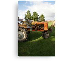 """Joe's Tractor"" Canvas Print"
