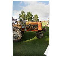 """""""Joe's Tractor"""" Poster"""
