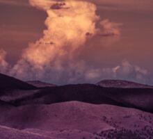 Purple Cloud Sticker