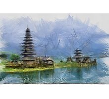 Bali Temple Photographic Print