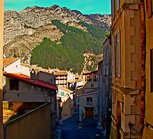 Sisteron Streets & The Alps by Al Bourassa