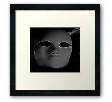 """""""Facade"""" Framed Print"""