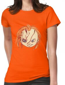 Chucky/ Child's Play Womens Fitted T-Shirt