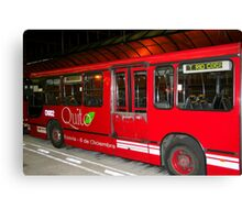 The Red Bus Canvas Print