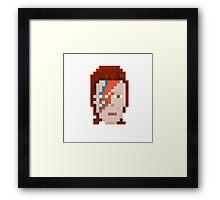 Aladdin Sane Pixel Framed Print