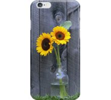 Sun Flowers ~ Yellow Flower Country Style iPhone Case/Skin