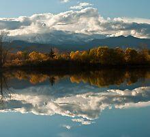 Reflections of Longs Peak, Colorado by nikongreg