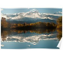 Reflections of Longs Peak, Colorado Poster