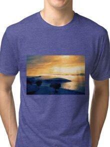 Golden Lake Tri-blend T-Shirt