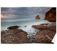 Pre-dawn at Steppe Beach Poster