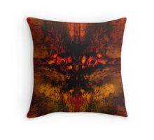 Prying Curiosity Means Death! Throw Pillow