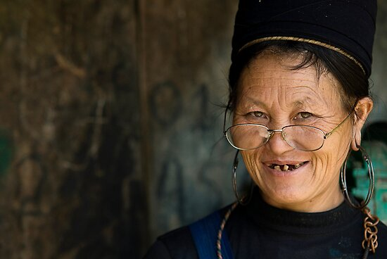 Woman from Sapa by Anthony and Kelly Rae