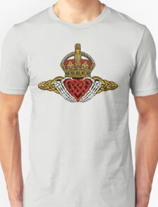 Skeleton Claddagh Color Unisex T-Shirt