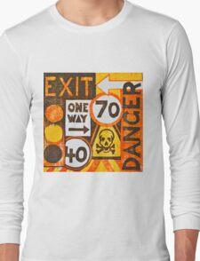 Sign Board Long Sleeve T-Shirt