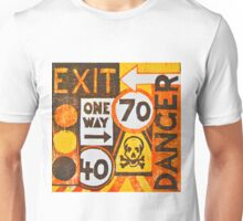 Sign Board Unisex T-Shirt